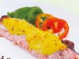 【主菜】魚の黄金焼き