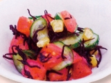 【副菜】彩りサラダ