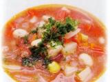 【スープ・汁】大豆のトマトスープ