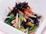 【副菜】ほうれん草のごまマヨ和え